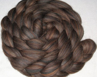 Combed Top / Roving Spinning / Felting Fiber 100% Merino Wool - Fernwood - 4 Ounces