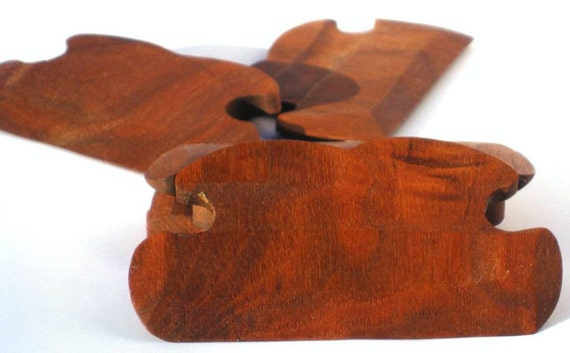 Hand Crafted Walnut Shuttles / Beaters for Card / Inkle Weaving
