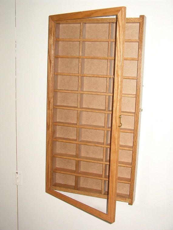 Wall Curio Shadow Box Collectors Case Display Case B 30 P