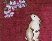 Luck - Talisman Series No. 3 (Rabbit w\/Clematis)
