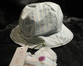Sweetly striped toddler bucket hat (24 mos-2T)