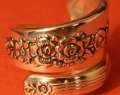 Spoon Ring ROYAL ROSE 1939 Handcrafted Wrap - Around Spoon Ring made to your size 7 - 16