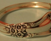 VALLEY ROSE 1956 custom made Bangle Bracelet is part of my full line of spoon ring jewelry