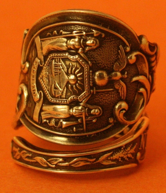 spoon ring new york city sterling silver spoon ring handmade