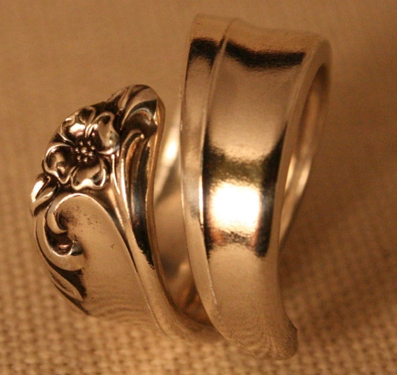Spoon Ring GAITY 1961 Spoon Ring Handmade Can Be Sized From Size 5 to 16