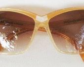 YSL New Vintage Cat Eye Sunglasses 8706
