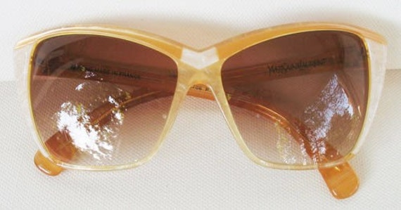 YSL New Vintage Cat Eye Sunglasses 8706