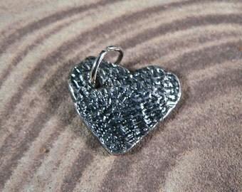 Fine Silver Heart