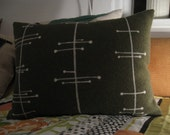 Atomic Felt Pillow
