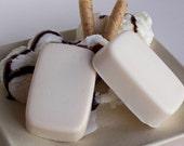 French Vanilla Soap - Rich and Creamy White, French Vanilla -  Ice Cream Soap