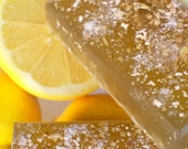 LEMON TEA WITH HONEY Summertime Survival Soap