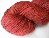 Rouge - hand dyed merino sock yarn