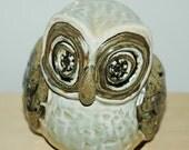 Late Mid Century Ceramic Owl