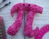 Miss Pi - pink print