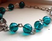 Emerald Green Bracelet, Emerald Jewelry