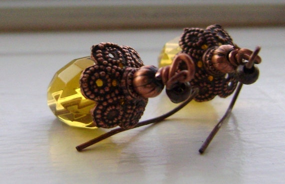 Beautiful Golden Earrings