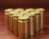 9mm Spent Bullet Shell Casings- Ammo-set of 12 pieces-perfect for Altered Art and Steampunk Creations