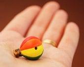 New Style - Colorful Rainbow Hot Air Balloon Charm