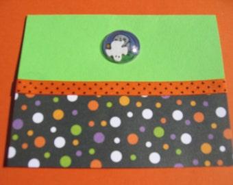 Halloween bubble shaker handmade card