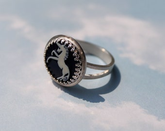 Unicorn ring (size 5)