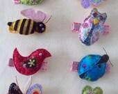 Fly Butterfly  Hair Clip