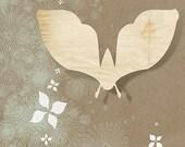 Paper Moth - 12x18