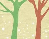 Trees Artwork Print - 8x10 - Just Us