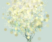 Lemon Bubble Tree - 12x18 Print