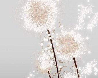 Perennial Moment (silver) - 12x18 Print