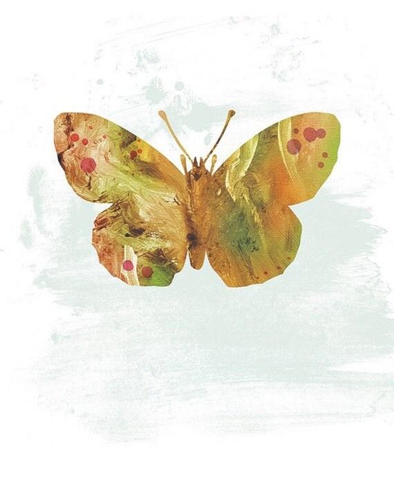Moth Art - Glenn - Butterflies and Moths Series - 8x10 Art Print