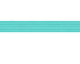 "50 yards Aqua Blue 1/4"" SKINNY elastic"