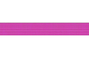 "50 yards Shocking Pink 1/4"" SKINNY elastic"