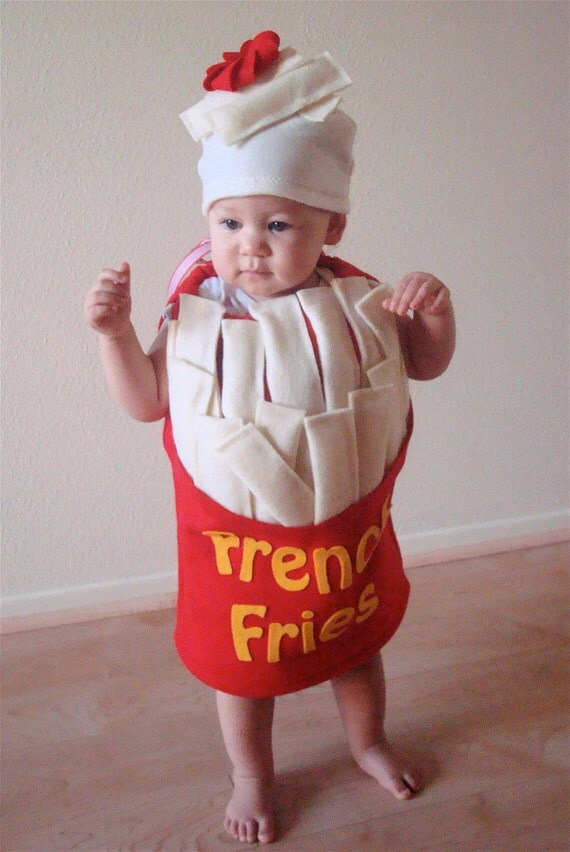 baby french fry costume halloween costume infant kids toddler costume boys girls food costume french fries ketchup dress up cosplay silly