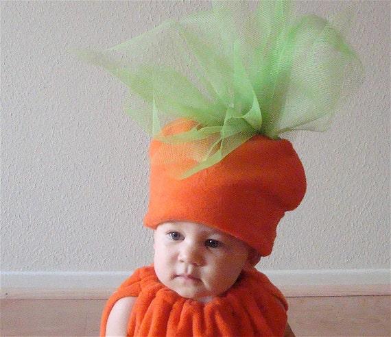 Kids Costume  Halloween Costume Carrot Costume