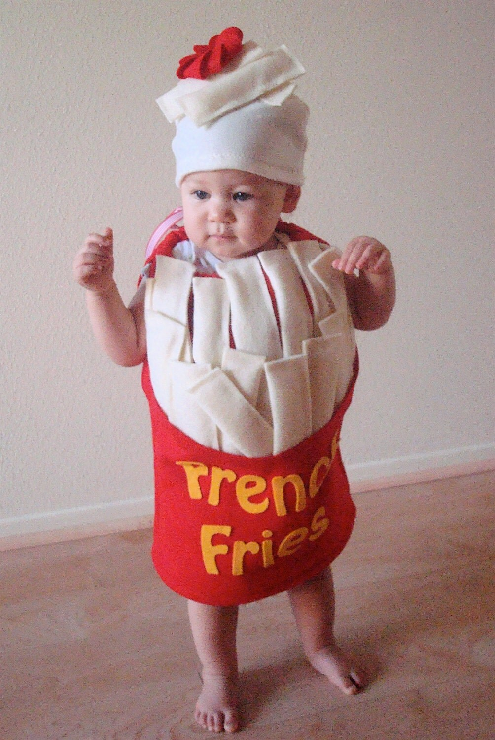 Baby French Fry Costume Infant Newborn Toddler Halloween