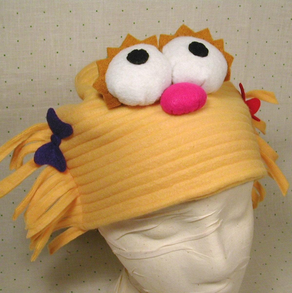 Zoe Hat Sesame Street Halloween Costume By Thecostumecafe