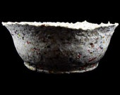 Completely Junk Mail - Recycled Handmade Paper Bowl - Large