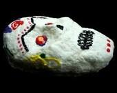Day of the Dead Sugar Skull - Handmade Paper Sculpture