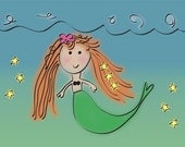 Mermaid and Stars
