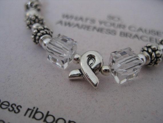 SALE- was 28.00 - Cause awareness bracelet