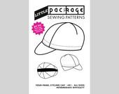 DIY KIT Sewing Pattern: Four-panel Cycling Cap