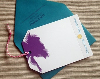 Destination Wedding Stationery Escort Cards Table Numbers Thank You Notes - DESIGN FEE