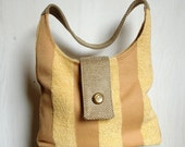 Golden Wheatfields Upcycled Shoulder Candy