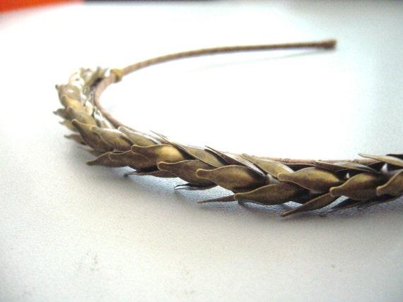 Wheat headband or tiara