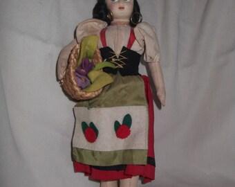 Vintage Italian  Doll