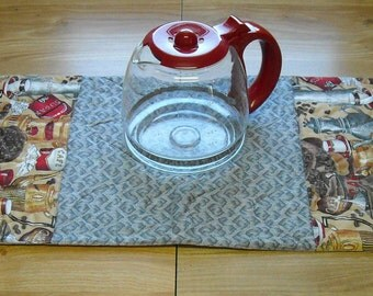 Gray Coffee Table Runner