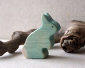 Rainbow Rabbits- Blue
