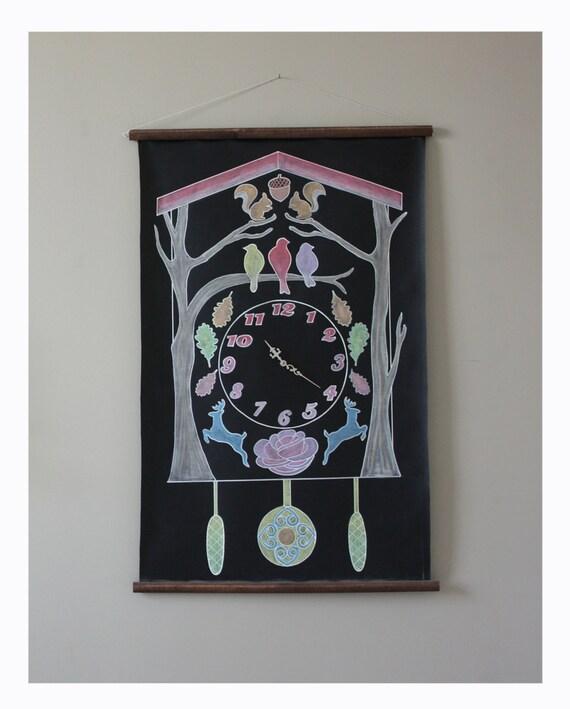 Chalkboard Cuckoo Clock