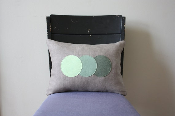 Ombre Trio Pillow - Pistachio