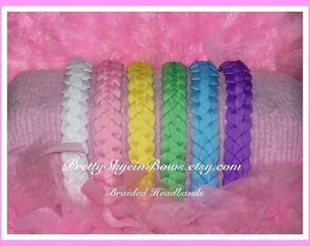 Braided Ribbon Headbands